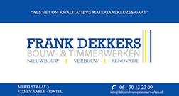 Frank Dekkers Bouw- en Timmerwerken
