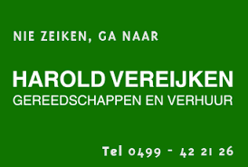 Harold Vereijken Gereedschappen en Verhuur